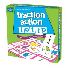Fraction Action Lotto - Brain Box