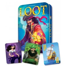 Loot Deluxe Tin by Gamewright